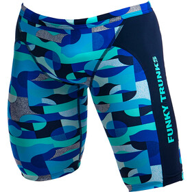 Funky Trunks Training Bañador Jammer Hombre, sea spray